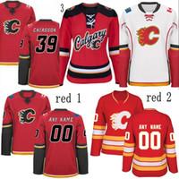 Wholesale Hockey Jerseys 79 - Lady Calgary Flames Jersey 19 Matthew Tkachuk 23 Sean Monahan 15 Ladislav Smid 26 Michael Stone 79 Micheal Ferland Hockey Jerseys