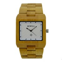 Wholesale zebra quartz watch for sale - Group buy 2017 Bewell Mens Watches Bewell Luxury Wooden Watch Zebra Sandalwood Classy Analog W016A on Sale