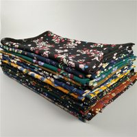 Wholesale Bubble Sweet - 2017 high-quality scarves, 30-color new high-end sweet fashion printing bubble pearl chiffon scarf wholesale