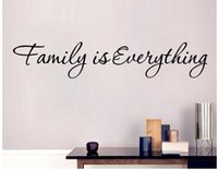 New Arrival Diy Family Everything Removable Art Vinyl Quote Wall Sticker Mural Home