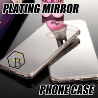 Wholesale I Phone Galaxy Cases - for I phone7 case Electronic color plating Chrome Ultra thin Soft TPU Phone Case Cover For Samsung Galaxy S6 edge plus iphone 6s plus
