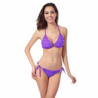 Wholesale Modest Bikinis - modest swimwear for girls bikini swimsuit for women push up swimsuit cover up plus size