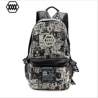 Backpack Style Men Plain New Preppy Style Canvas Newspapers Color Boys School Backpack Leisure 14 Inch Laptop Travel Bags for Teenage Girls