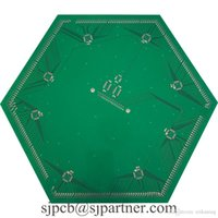 Wholesale Electronic Blinds - FR4 double printed circuit board electronic assembly and Multilayer Printed Circuit Board blind and buried via pcb
