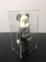 Wholesale Batman Display - bearbrick display box, be@rbrick transparent box, suitable for 400% dust cover kaws