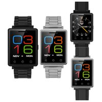 Wholesale Quad Band Touch Screen Phones - US Stock! G7 Bluetooth4.0 Smart Watch Phone Touch Screen GSM Quad Band SIM for Android IOS Free Shipping