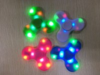 2017 Fidget Spinner USB LED mini Bluetooth Musique Spinner à main Fidget jouet EDC Toy Decompression Anxiety Toys Gyro Toys With Retail Box by DHL