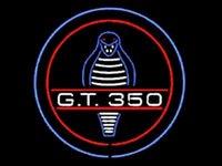 Wholesale Cobra Light Bar - New Shelby Cobra gt 350 Glass Neon Sign Light Beer Bar Pub Arts Crafts Gifts Lighting Size 22
