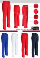 Wholesale White Colour Pants - Men's Golf Pants Golf Clothes Quick Dry Breathable Golf Trousers 4 colours