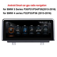 Wholesale New Dvd Series - 8.8 10.25 inch Android Car Radio Stereo for BMW 3 Series F30 F31 F34 (2013-2016) 4 series F32 F33 F36 (2013-2016) GPS Navigation no car dvd