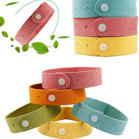 Wholesale Mosquitoes Bite - Mosquito repellent bracelet summer bracelet protection children anti mosquito bites children bracelet natural pollution free CA171