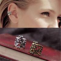 tipos de puños al por mayor-Ear cuff para mujer DHL Fashion Hollow Type U Tipo de pendiente de abrazadera Retro Ear Cuff Aleación Clip Pendientes Joyería Regalo de Navidad