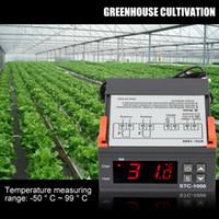 controle de temperatura do termostato digital venda por atacado-mini termostato multifacetado do controlador de temperatura de Digitas STC-1000 com o sensor para o uso dos laboratórios e o outro sistema temperatura-controlado