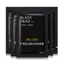 çamur blackhead çıkarma toptan satış-Pilaten Mineral Çamur Burun Siyah Nokta Gözenek Şerit erkek kadın Temizleme Temizleyici Temizleme Membranları Şeritler sökücü yüz maskesi kabukları