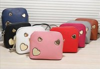 Wholesale Zipper Ornament - New Women Messenger Bags Vintage Small Shell Leather Handbag Casual Bag Hardware Deer Ornaments Shell Package High Quality 2017