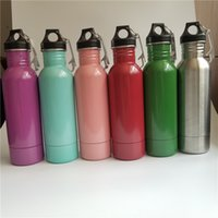 Wholesale Bottling Bucket - Beer Bottle Armour Koozie Keeper Stainless Steel Beer Sports Bottles Insulator With Bottle Opener 6 Colors 10pcs