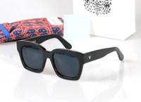 Wholesale Bigbang Logo - 2017 Polarized Sunglasses women men GENTLE Brand Designer V Logo Korea Bigbang The Dreamer Square frame Driving UV UVB400 protection