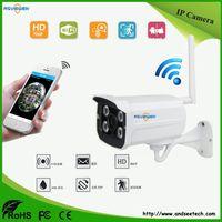 Wholesale Outdoor Cctv Camera Iphone - Bullet WiFi IP Camera 1080P Onvif P2P IR Outdoor Surveillance Night Vision Security CCTV Camera Android iPhone AS-IP830