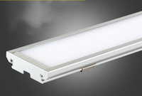 Wholesale High Touch Surfaces - Ultra thin LED Panel Light 4ft 1200mm 25W batten Tube shaped surface mounted ceiling lamp High brightness 2000Lm Downlights AC85-265V LLFA
