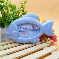 Wholesale Baby Thermometer - MinBoutique M17025 Baby Cartoon Small Fish Water Thermometers