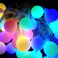 10M 100 LEDs 110V 220V IP44 Outdoor Multicolor LED String Lights Luzes de Natal Holiday Decoração de festa de casamento Luces LED