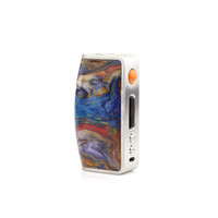 Wholesale Resin Hat - Top quality Aleader- tech vaporizer Dbox 75w VV VW TC Box Mod top hat mod clone stabilized wood colors with resin drip tips