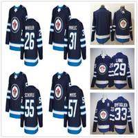 Wholesale jersey jets resale online - 2017 New Season Winnipeg Jets Hockey Patrik Laine Blake Wheeler Ondrej Pavelec Dustin Mark Scheifele Jersey