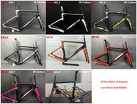 Wholesale Carbon Road Bike 51cm - Newest MCipollini NK1K T1000 1K or 3k frame Full Carbon Road Bike Frame,fork,headset,seatpost Size:XXS,XS,S,M,L, bicycle frameset