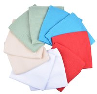 Wholesale Microfiber Dish Towels Wholesale - 50PC 40x60cm 280g Sinland Microfiber Waffle Weave Drying Kitchen Towels Dishcloths Dish Cloth Car Dish Towel Cleaning Cloths