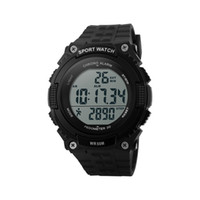 Wholesale Waterproof Stopwatch Backlight - Luxury watch men's multi-purpose sports watch can be recorded with a watch meter waterproof stopwatch in time for the LED backlight display