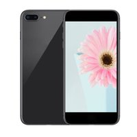 Wholesale Glass Cameras - Goophone i8 plus 5.5 Inch Smartphone Quad Core MTK6580 1G 4G glass back cover Show 4g lte 4G 128G unlocked phone