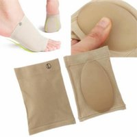 Wholesale Foam Sleeves - Foot Socks For Pedicure Tools Arch Support Sleeve Cushion Pads Feet Massager Flatfoot Insole Orthopedic Shoes Insoles Gel CCA6365 200pair