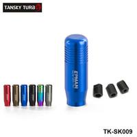 alavanca da alavanca de mudanças venda por atacado-TANSKY -NEW Alumínio Universal Transmissão Manual Vara de Câmbio Shifter Alavanca Knob Para VW Audi Toyota TK-SK009