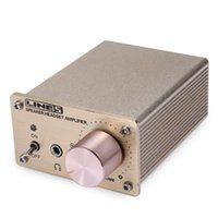 Wholesale Portable Power Amplifier - LINES A910 Mini Portable Audio Computer Stereo Headphone Amplifier with Aluminum Alloy Case and High-End Control System