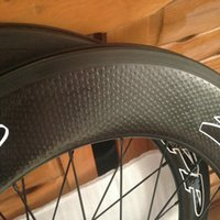 Wholesale Road Bike Wheel Sticker - sticker is available 50mm Road Bike Golf Surface Dimpled tubular Clincher Wheelset bicycle 25mm Width fiber Full Carbon Dimple Wheels