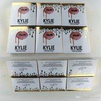 Wholesale Powder Plus - New makeup 6 colors face Kylie powder profession makeup high quality Studio Fix Powder Plus Foundation press make up face powder puffs