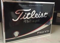 Wholesale One Piece Balls - DHL PRO V1 V1X golf ball balls golfballs Golf wedges grip grips club clubs one box=12balls