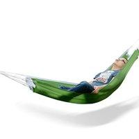 парашютная ткань для гамаков оптовых-1 человек открытый отдых парашют гамак для кемпинга путешествия открытый парашют ткань гамак бесплатная доставка