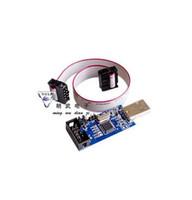Wholesale Usbasp Isp Programmer - Wholesale- 1pcs New USBASP USBISP AVR Programmer USB ISP USB ASP ATMEGA8 ATMEGA128 Support Win7 64K