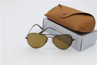 Wholesale Sun Glass Price - lot wholesale Price designer Mans sunglasses Glod frame Tea Mix order men Womans Sunglasses brand sun glass Come Box