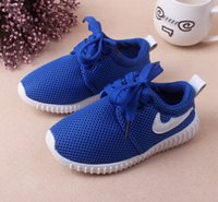 Wholesale Baby Girl Size Shoes - 3 colourHOT!!! Classic Style Spring New Fashion Children Shoes Running Boys And Girls Toddler Shoes Baby Kids Sneakers size:21-30