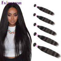 Indian Straight Weave 5pc / lot Brazilian Brazilian peruian Malaysian Unprocessed Virgin Hair Bundles Frete grátis Dyeable High Quality Low Price