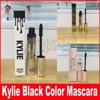 Wholesale Curve Slimming - Gold Kylie Mascara Magic Thick Slim Waterproof Black Eye Mascara Long Eyelash i want it all Curving Lengthening holiday Mascara