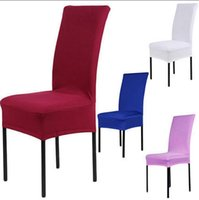 arm chair spandex polyester no solid stretch banquet chair cover slipcovers dining room wedding party