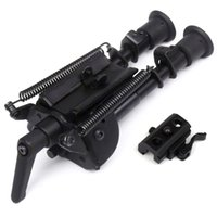 Wholesale Hunting Swivel - 6-9 inch Harris bipod High Shockproof Swivel Tilting Bipod with adjusting Pod-locker Pivot Model Bi-pod Hunting Stand with bipod adapter