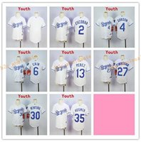 Wholesale Mixed Light S - 2017 Kids Stitched MLB Kansas City Royals 35 Hosmer 4 Gordon 13 Perez 30 Ventura 6 Cain Dark Light Blue White Gray Baseball Jerseys Mix orde