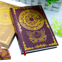 Wholesale Magic Diary - Wholesale- New Japanese Anime Card Captor Sakura Magic Notebook Diary book stationery Gift New in Box Free Shipping