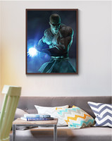Wholesale giclee poster - Single Unframed Kame-sennin Dragon Ball Power Anime Poster Painting On Canvas Giclee Wall Art Painting Art Picture For Home Decor