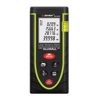 Wholesale tools measuring area online - Freeshipping M Laser Distance Meter Digital Electronic Handheld Precision mm Rangefinder Tape measure Portable Area volume tool