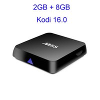 android 4.4 tv box 2gb 8gb großhandel-CAC061-40x Smart-TV-Box Android 4.4 Version 16.1 Amlogic S812 Quad Core 2G 8G Streaming Media Player